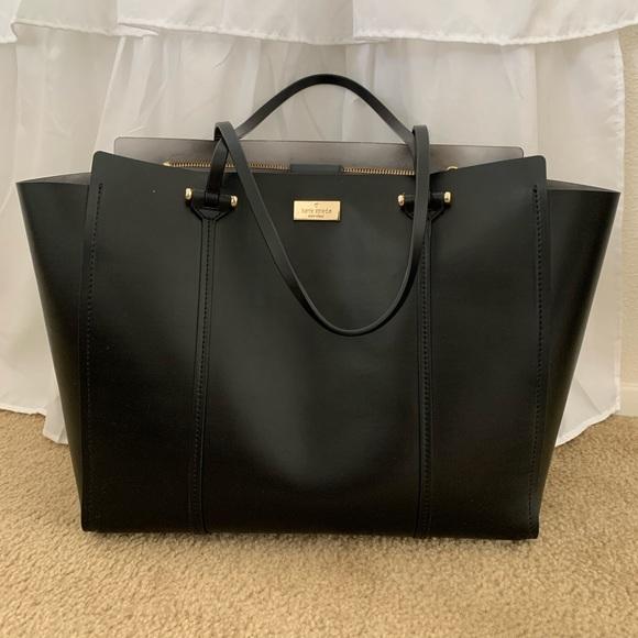 Late Spade Large Tote Bag